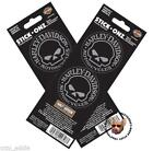 Harley Skull Decal