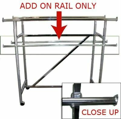 60 Lomg Add On Rail For Double Bar H Rack Set Of 2