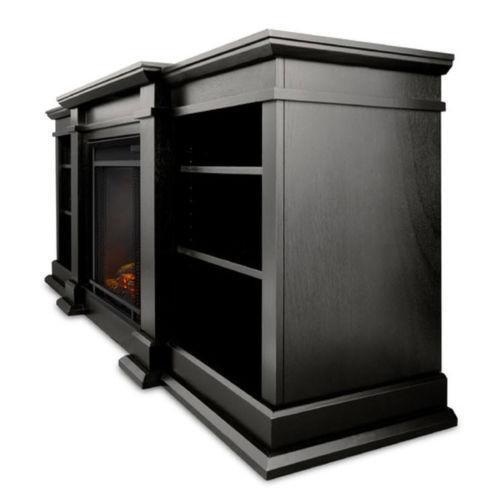 Black Electric Fireplace - Stone Electric Fireplace EBay