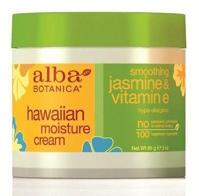 ~~ONE (1) 3-OZ ALBA BOTANICA MOISTURIZING CREAM JASMINE & VITAMIN E IMMED - Alba Vitamin C Moisturizer