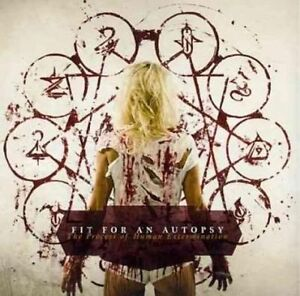Fit for an Autopsy - Process of Human Extermination (CD 2011) NEW/SEALED