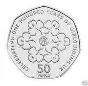 50 Pence Girl Guides