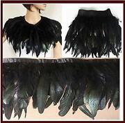 Black Feather Cape