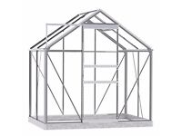 Greenhouse 4' x 6' Feet Metal Frame and Base (Brand New Boxed) Call me: 07886-722501