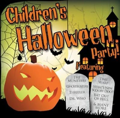 CHILDREN'S HALLOWEEN PARTY NEW CD 28 HALLOWEEN HITS MONSTER MASH GHOSTBUSTERS - Halloween Party Music Ghostbusters