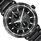 Black Ceramic Fossil Womens Watch