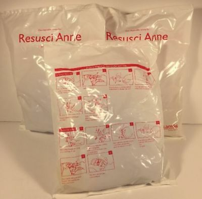 Laerdal Disposable Airway 152250 Resusci Anne Lot Of 3 -free Shipping-