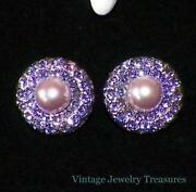 Joan Rivers Pearl Earrings