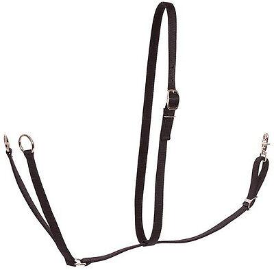 Nylon Running Martingale / Mustang Brand / Black