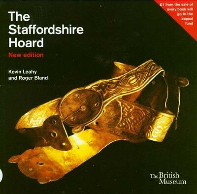 Anglo-Saxon Treasure Jewelry Helmets Sword Scabbards Crosses Staffordshire Hoard