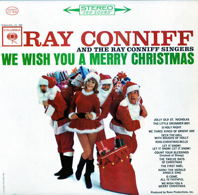 Ray Conniff Singers - We Wish You a Merry Christmas (White) [New Vinyl LP] Color ()