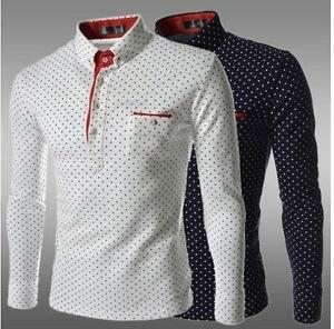 Men s Long Sleeve Polo Shirts d34a62b3535