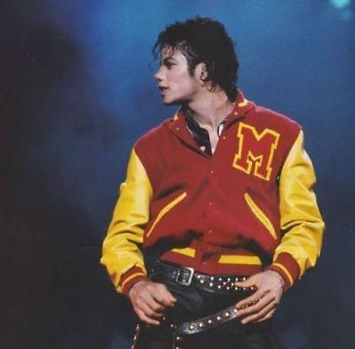 Michael Jackson Thriller Jacket M Logo Varsity Jacket - Thriller Jackets