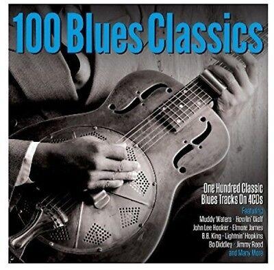Various Artists - 100 Blues Classics / Various [New CD] UK - Import