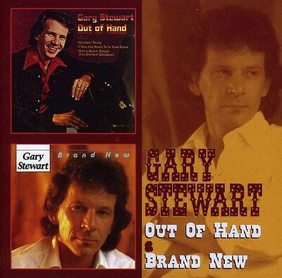 Gary Stewart   Out Of Hand   Brand New  New Cd