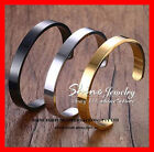 Stainless Steel Cuff Bracelets for Men