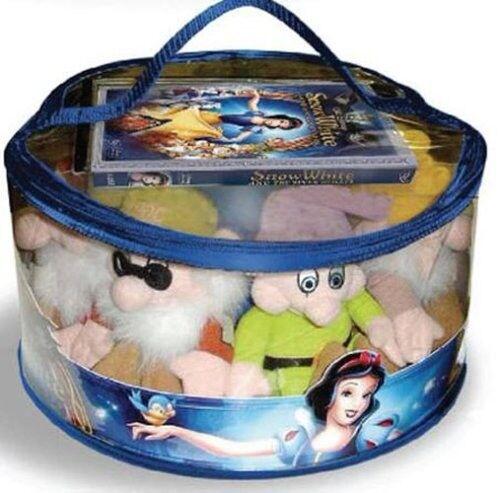 Snow White 7 Dwarf Plush Gift Set Diamond