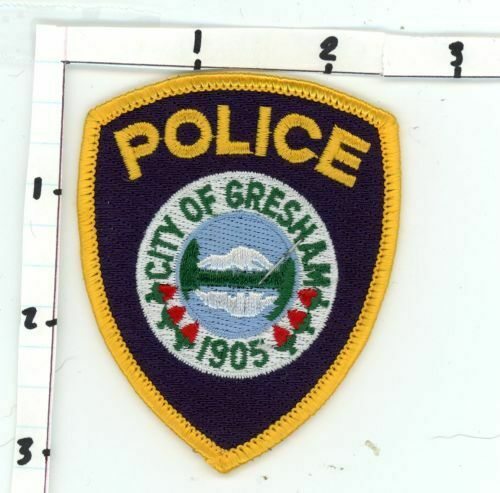 GRESHAM POLICE OREGON OR NICE NEW COLORFUL PATCH SHERIFF