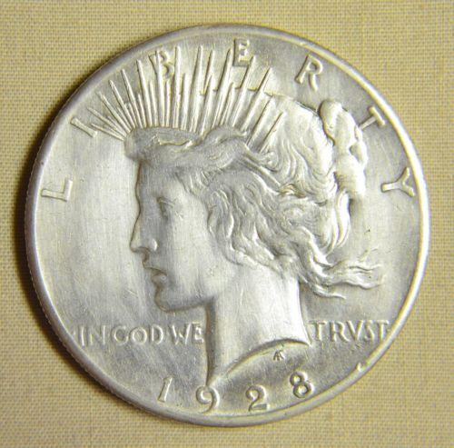 1928 Peace Dollar Ebay