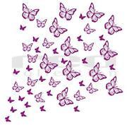 Wandtattoo Kinderzimmer Schmetterling