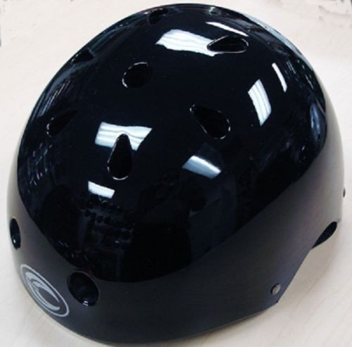 BLACK Kids Bicycle Helmet SML Cycling Skateboard Scooter Protective Gear NEW