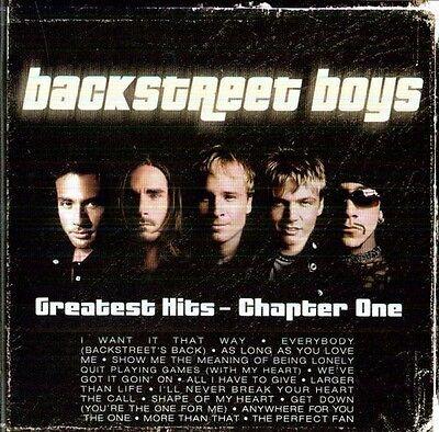 Backstreet Boys   Greatest Hits Chapter 1  New Cd  Germany   Import