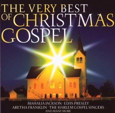 Christmas Gospel-The very Best of (2009, Sony) Mahalia Jackson, Johnny Ca..