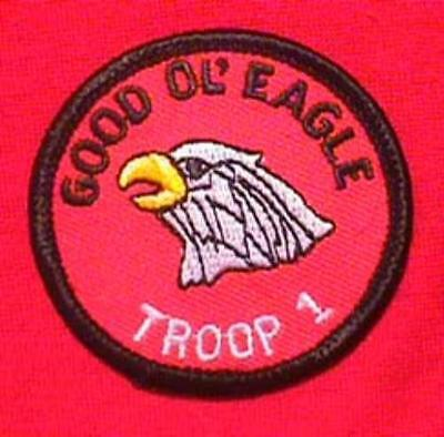 GOOD OL EAGLE Round Patrol Patch Wood Badge Course Cub Boy Scout beads BSA, used for sale  Shipping to Canada