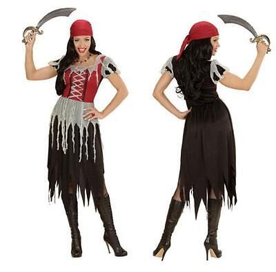 S 34 36 Damen Kleid Seeräuber Freibeuter Lumpen Pirat (Lumpen-kostüm)