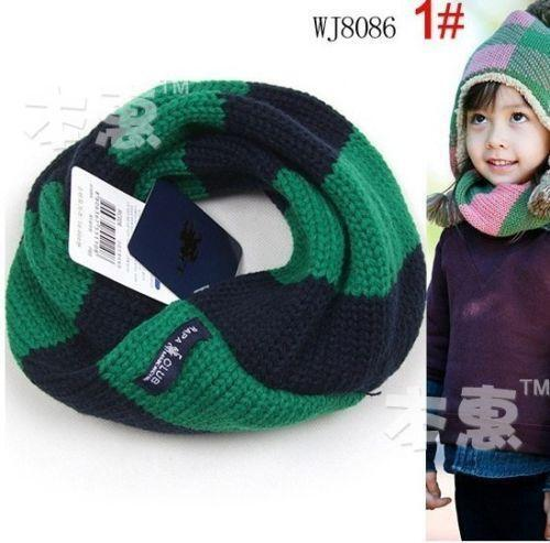 7 Colors Winter Baby Warm Boys Girls Stars Collar Scarf Children O Ring Neck Scarves Hot Sell Ture 100% Guarantee Girl's Accessories