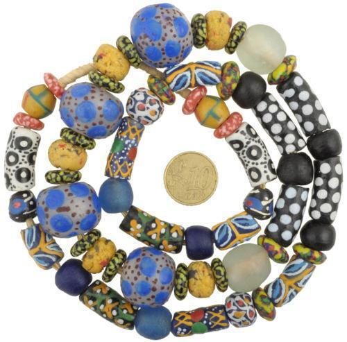 Bead Glass African Beads: African Glass Trade Beads