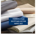 Egyptian Cotton Bedding Sheets 1000 and Higher Thread Count Flat Sheets