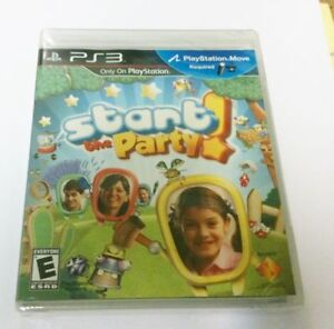 NEW START THE PARTY MOVE GAME FOR SONY PS3 PLAYSTATION 3 FACTORY Kingston Kingston Area image 1