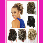 Clip - In Bun Curly Hair Extensions