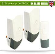 Twin Wireless Plug in Door Bell