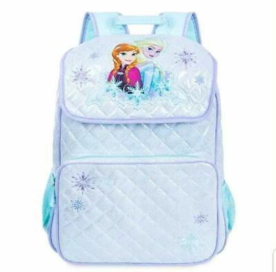 Kid Store Names (NEW Disney Store Frozen Anna & Elsa Girls Backpack School Bag no name)