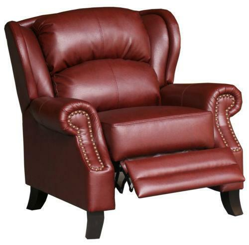 Burgundy Leather Chair Ebay