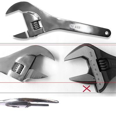 V8 629 Super Thin Adjustable Service Wrench for Automotive and Hydraulics ()