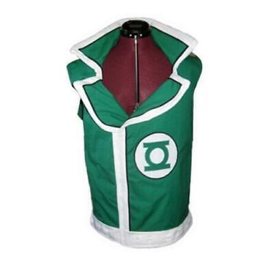 Cosplay Costume Guy Gardner Green Lantern Vest Any Size free shipping