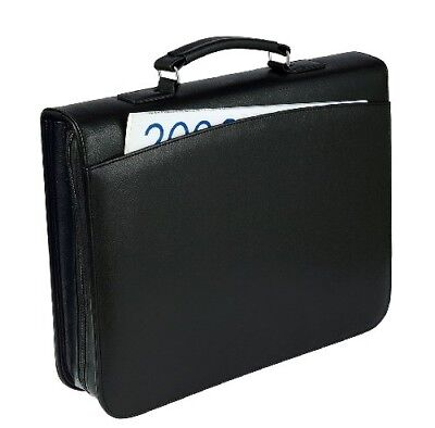 Wedo Document Case and Conference Portfolio - Black