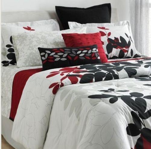 Red Black Queen Bedding Ebay