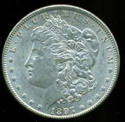 1897 P Morgan Silver Dollar