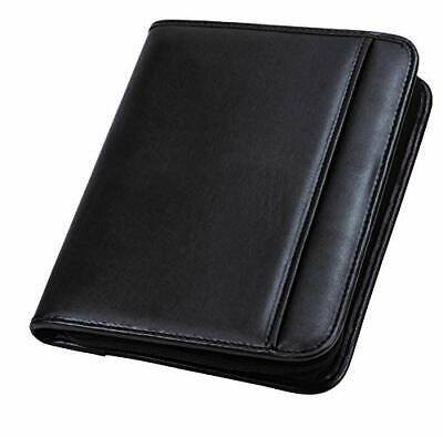 Professional Padfolio Business Portfolio With Secure Zippered Closure Pocket New