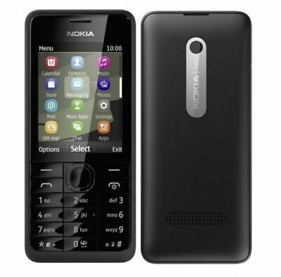 Nokia 301 New Unlocked 3G Bluetooth Dialler Button Mobile Phone Single Sim