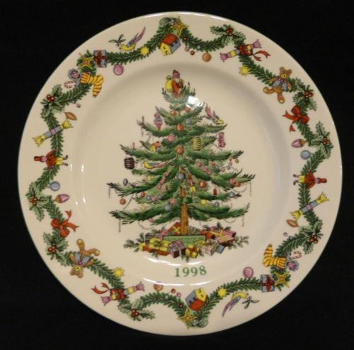Spode Christmas Tree History: Spode Christmas Tree Collector Plate