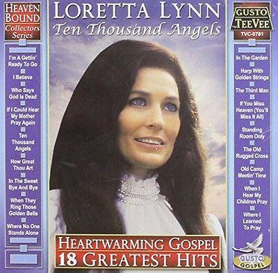 Loretta Lynn   Heartwarming Gospel  18 Greatest Hits  New Cd