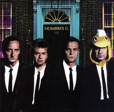 Hombres G: 10 (CD, 2007)