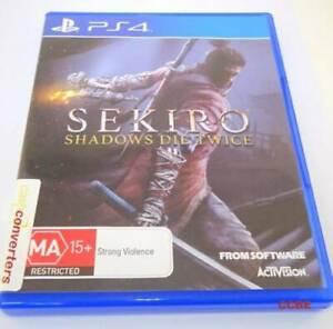Sekiro Shadows Die Twice Playstation 4 Game