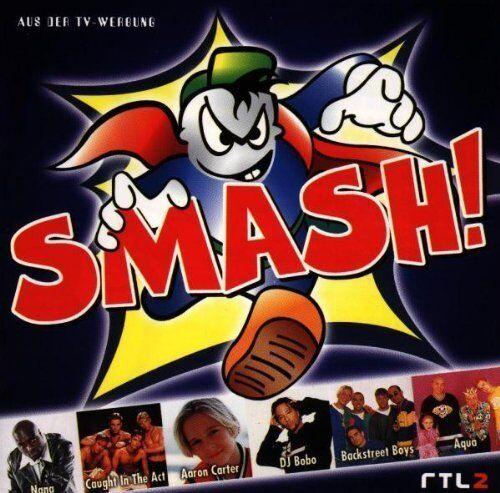 Smash! (1998) Nana, Caught in the Act, Aaron Carter, DJ Bobo.. [CD]