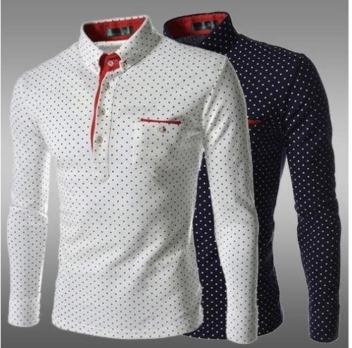 Mens Long Sleeve Polo Shirts Ebay